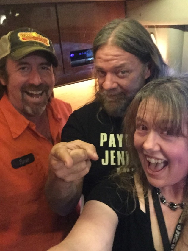 Shelly w/  Pepper & Woody from Corrosion Of Conformity